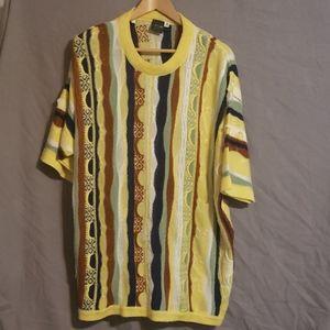 Rare vintage Coogi short sleeved sweater